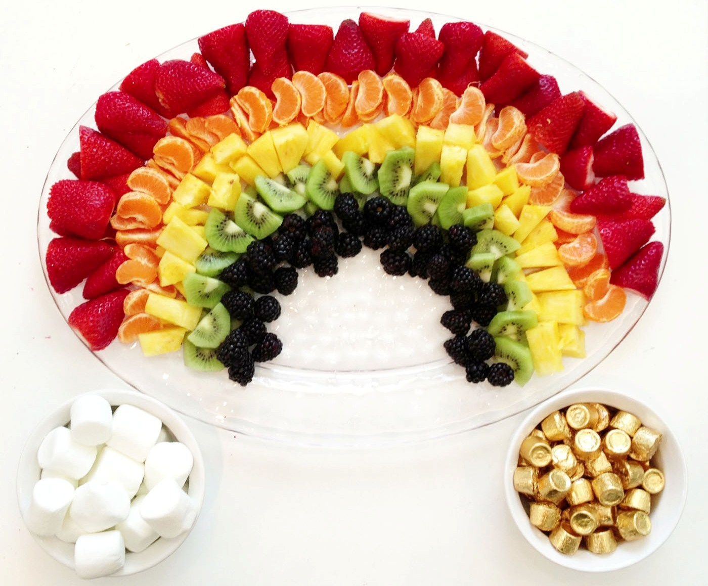 fruit rainbow