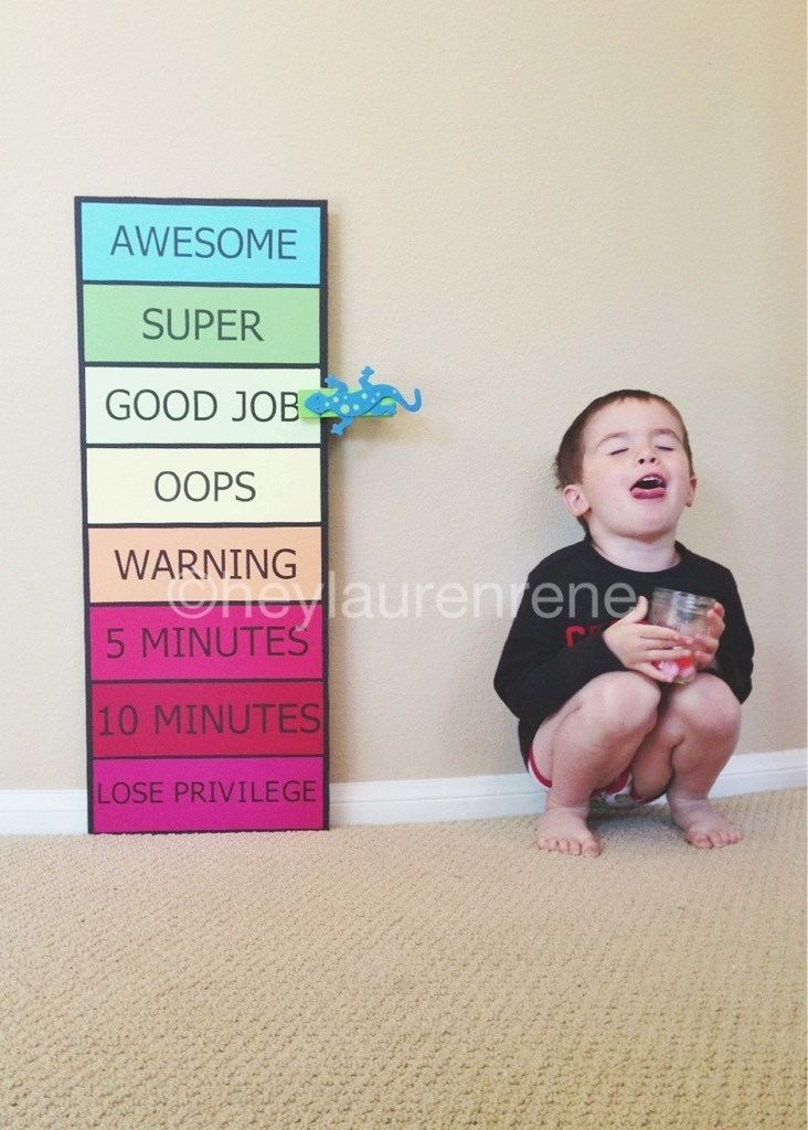 Diy Behavior Chart To Help Keep Mommy In Check Too