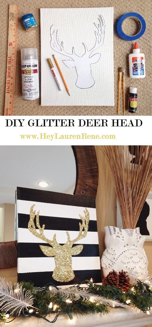 Unique DIY-Glitter-Deer-Head.jpg ZN49
