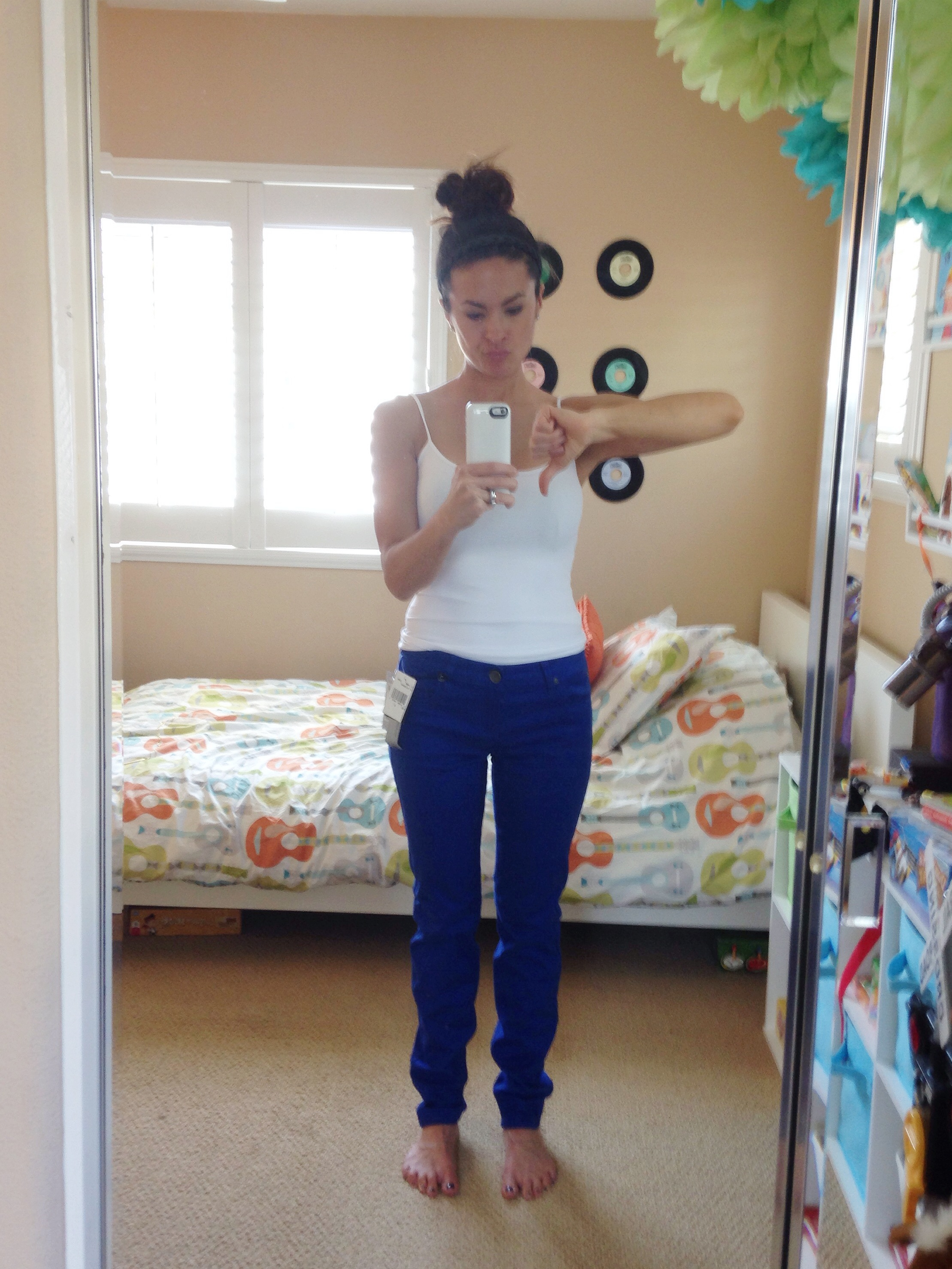 Denna Colored Skinny Jean